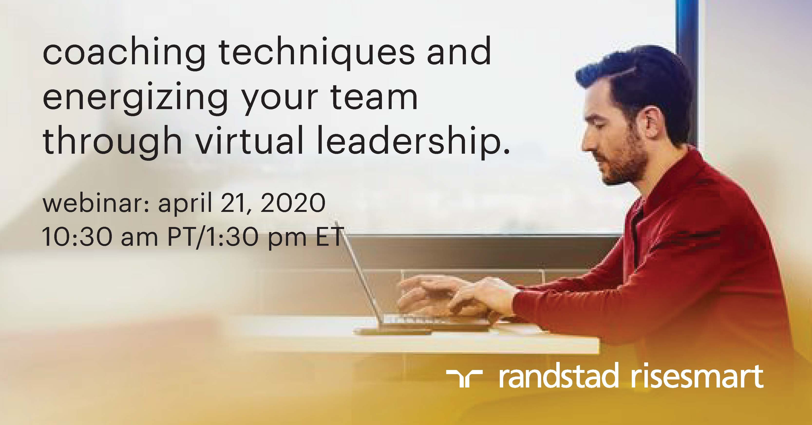 coaching techniques and energizing your team through virtual leadership